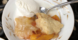 The Best Peach Cobbler Recipe