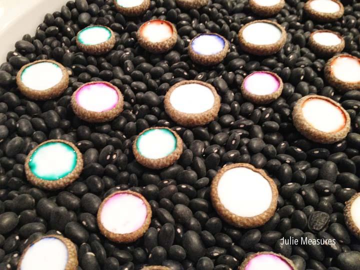 Jeweled Acorn Cap