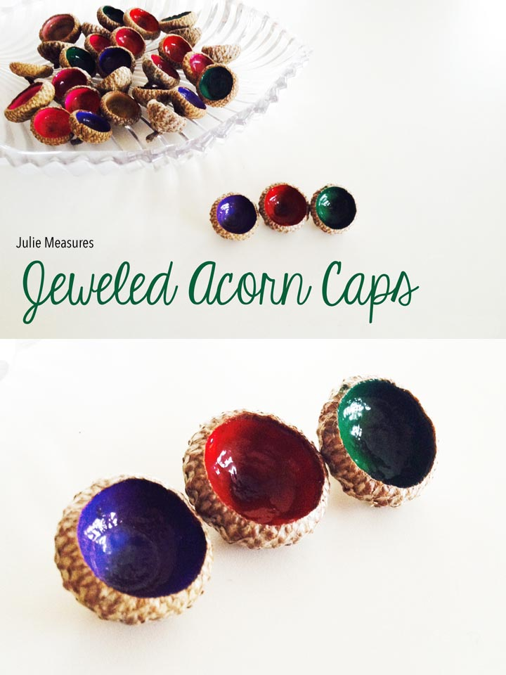 Jeweled Acorn Cap