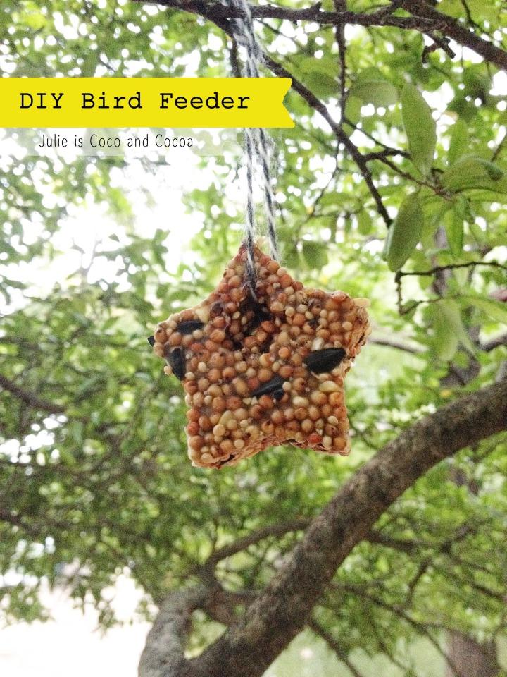 bird feeder star tree