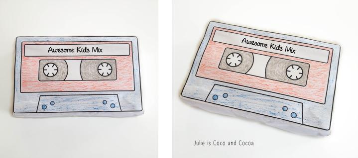 GOTG cassette box
