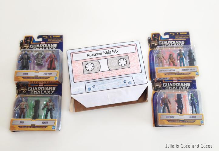 GOTG cassette gift box