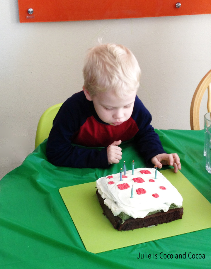 Littlest birthday cake