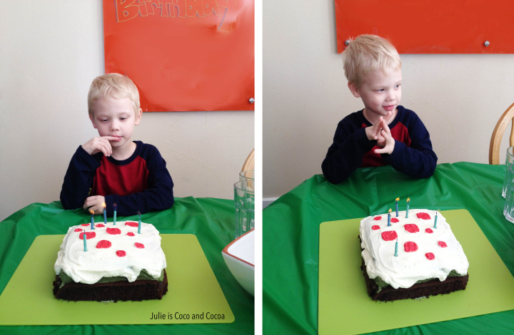 Littlest birthday candles