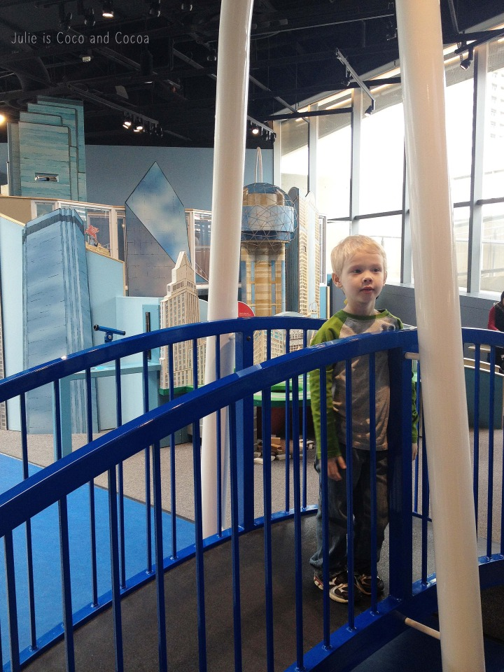 perot museum kids area