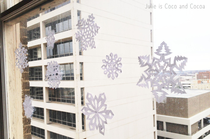 snowflakes downtown fort worth