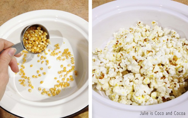 diy microwave popcorn popping