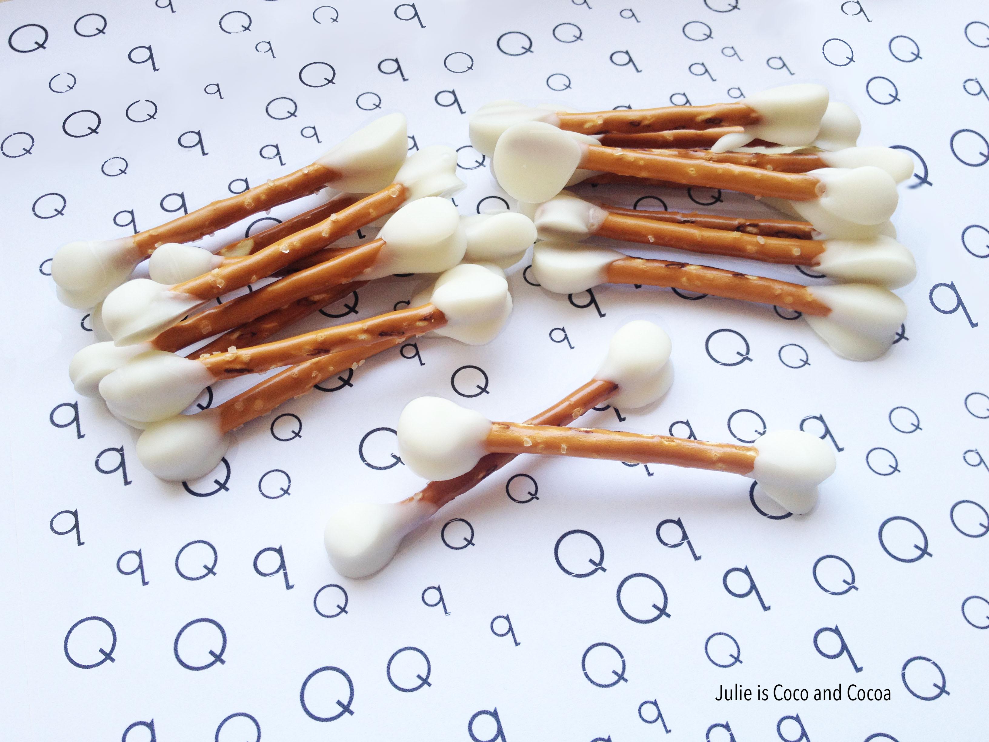 letter q edible qtip