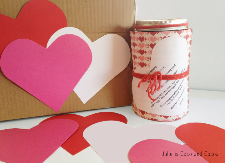 m&m red velvet love cookie heart attack box