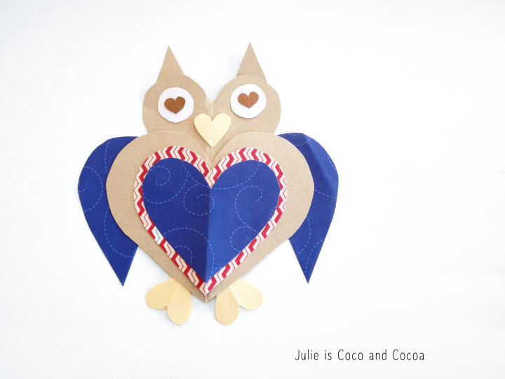 owl heart love
