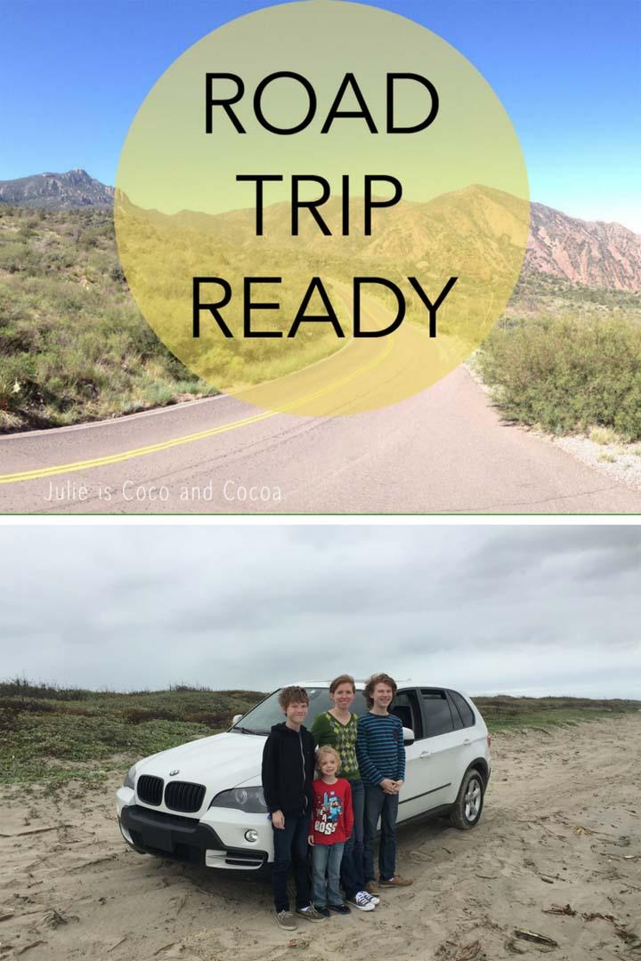 road trip ready julie measures. Black Bedroom Furniture Sets. Home Design Ideas