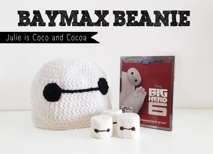 big hero 6 baymax beanie marshamallow