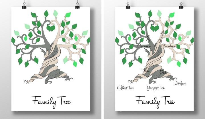 family tree web