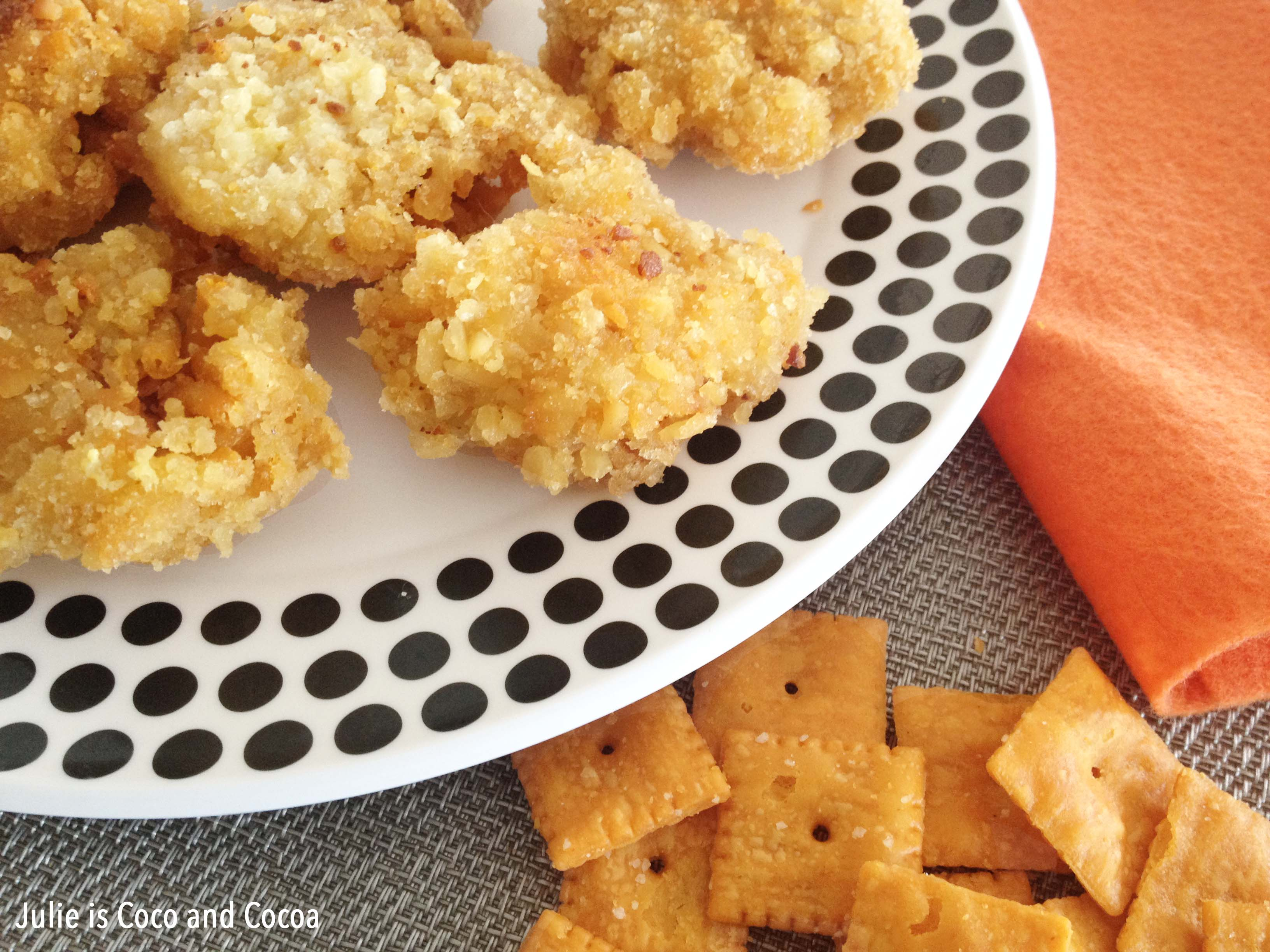 cheezit mac and cheese deluxe poppers
