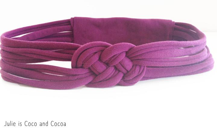 energizer tshirt knot headband