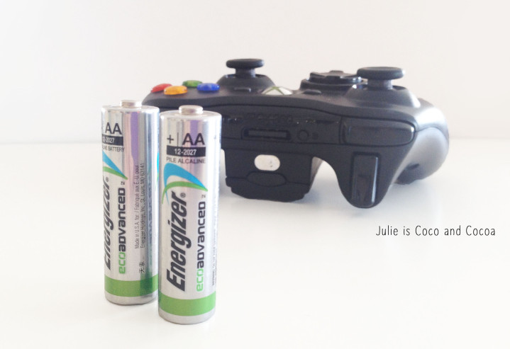 energizer video game controller