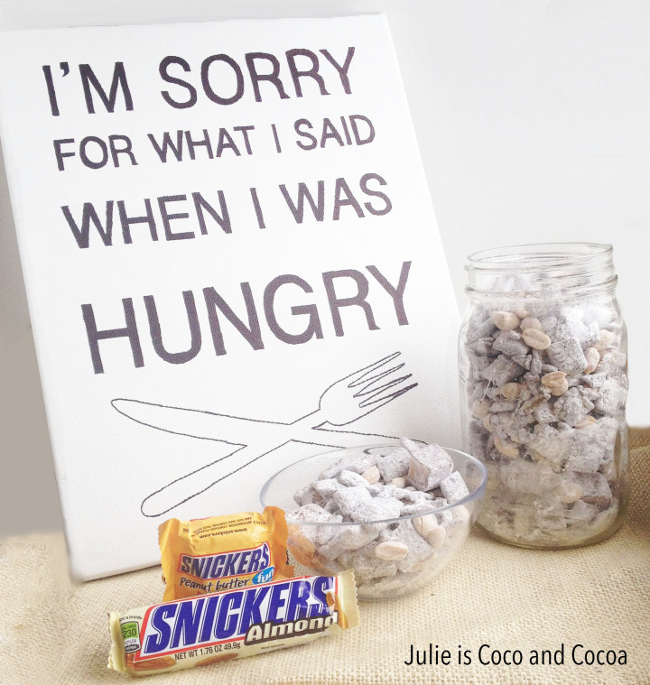 hungry sorry art snack mix