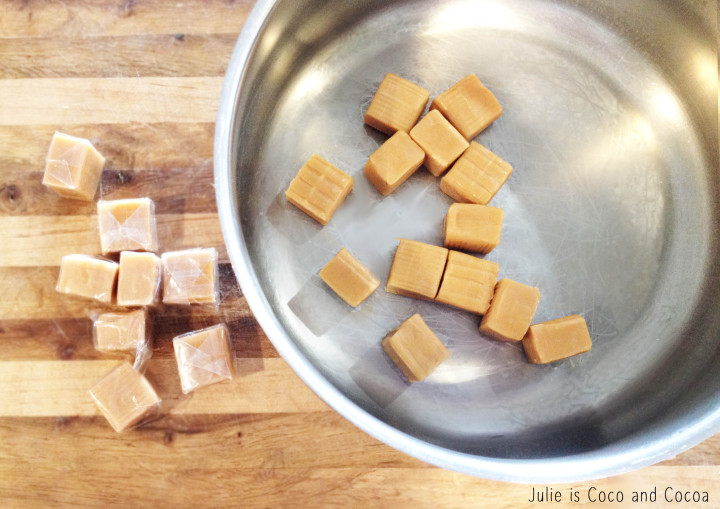 rice krispie unwrapped caramels