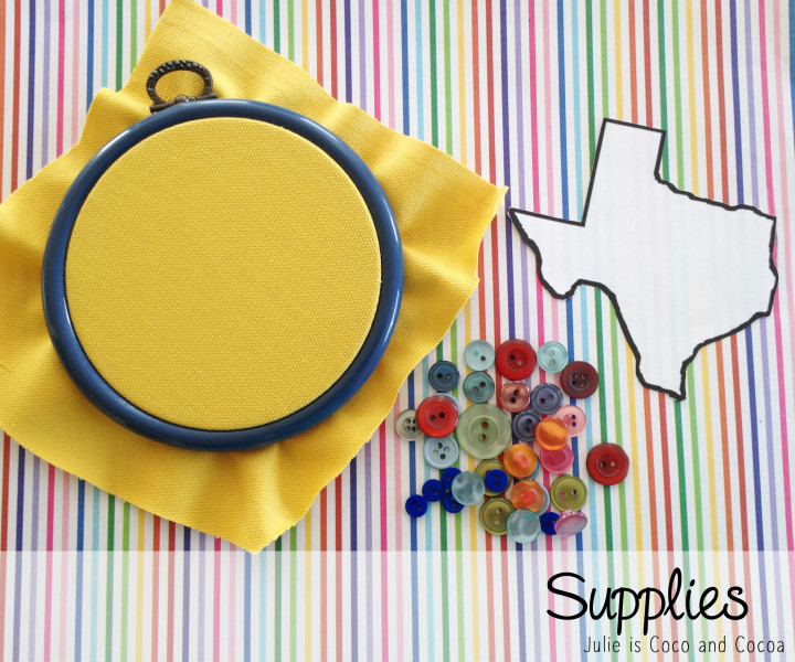texas rainbow button embroidery supplies