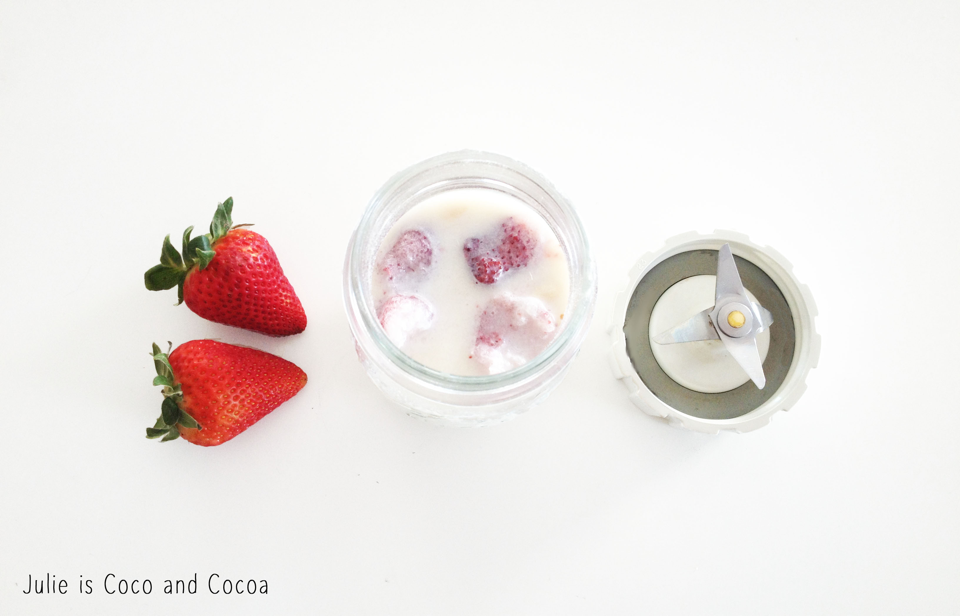 mason jar smoothie mix