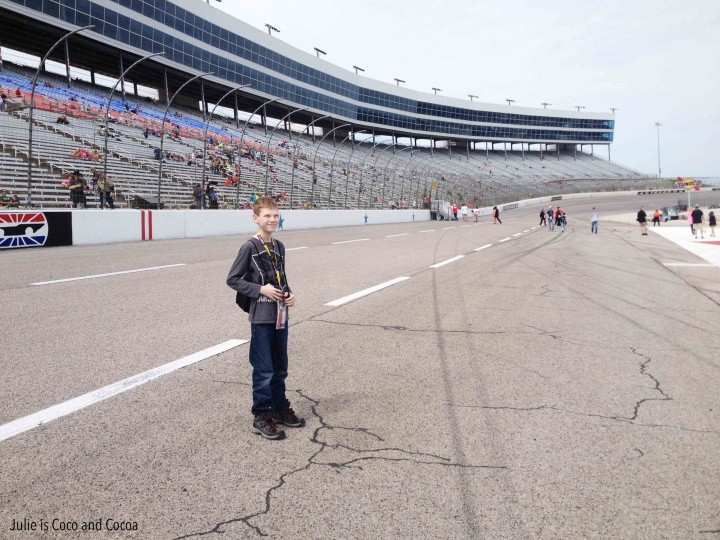 nascar dc500 youngest track