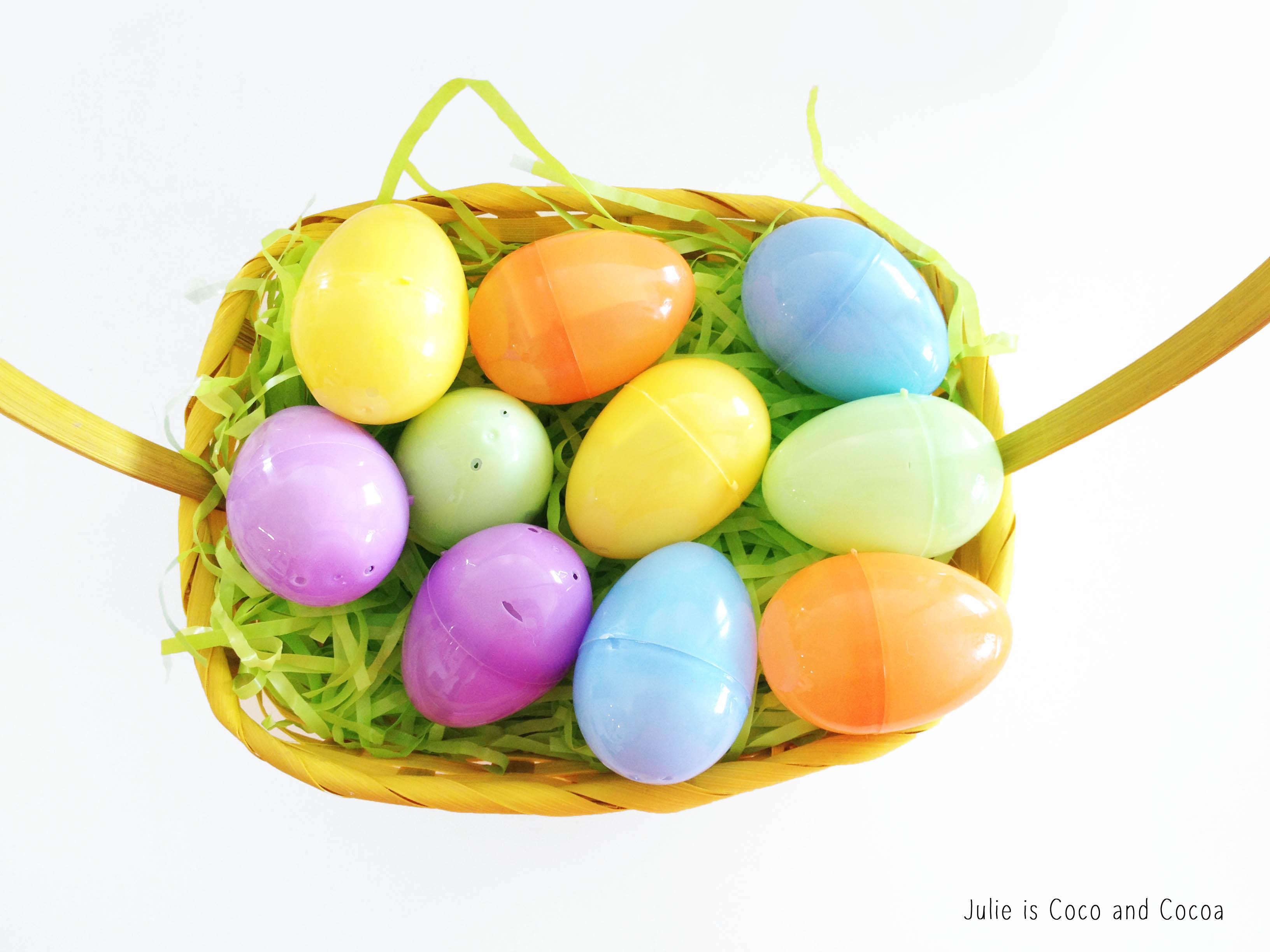 qr codes easter egg basket