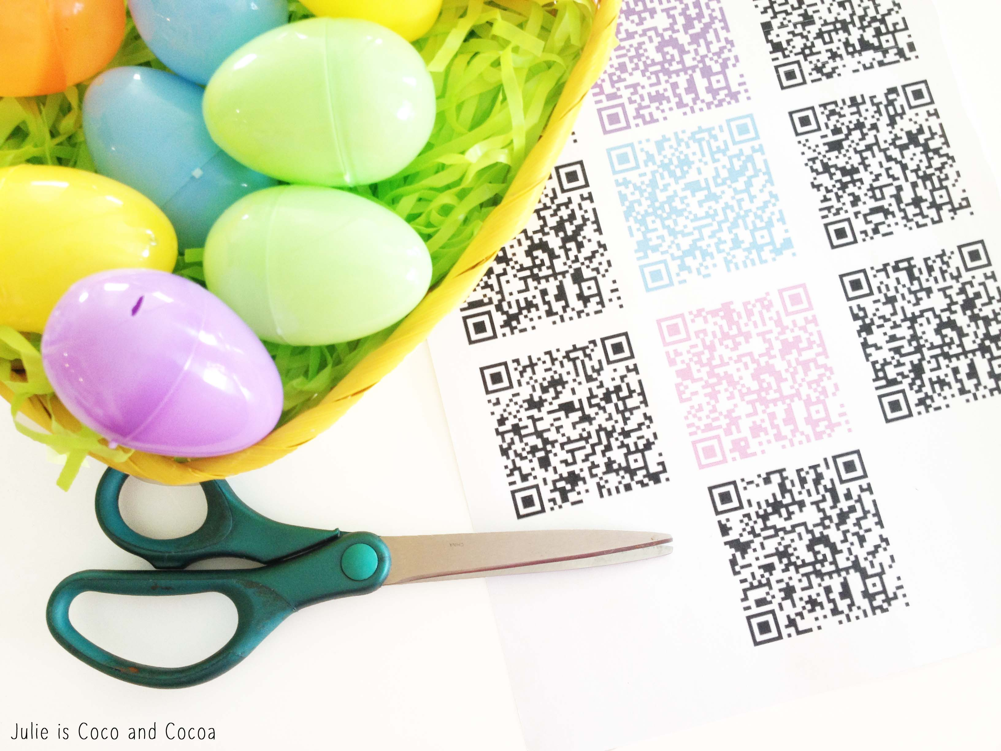 qr codes easter eggs