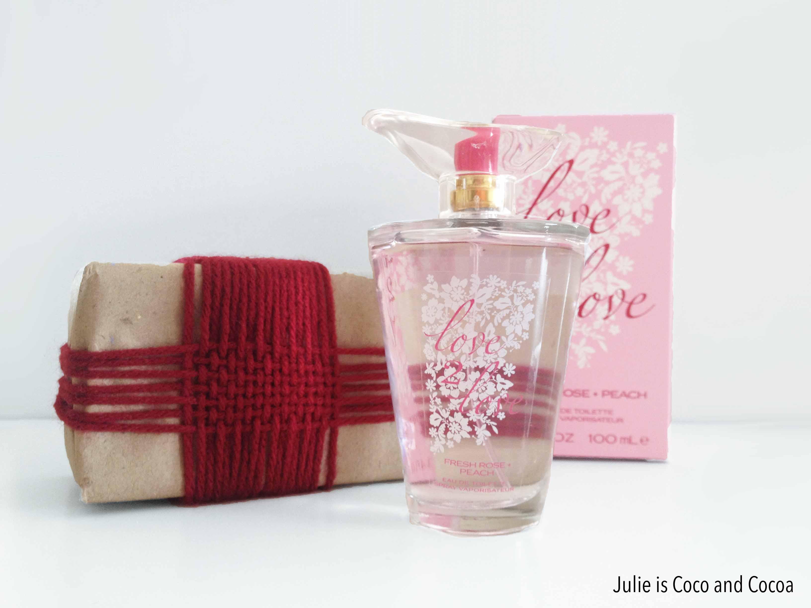love2love fresh rose peach wrapped
