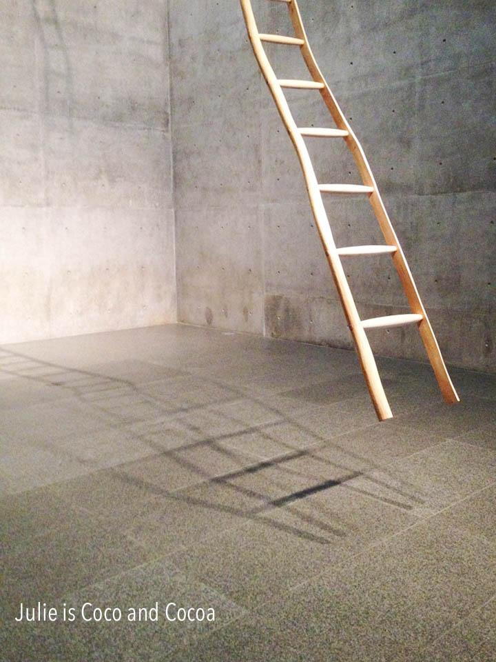 modern art museum fort worth empty modern ladder