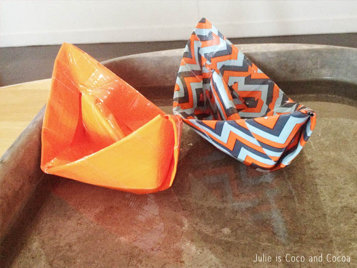 duct tape boats water