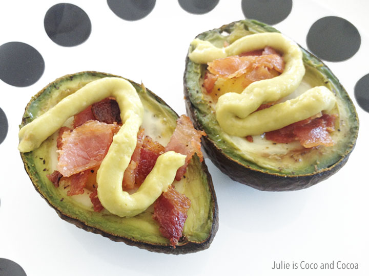 quaker avocado egg bacon breakfast bake