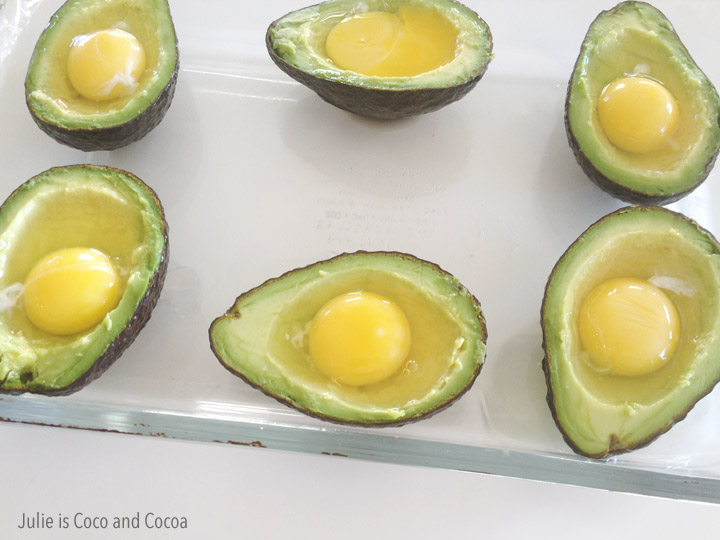 quaker avocado egg bake