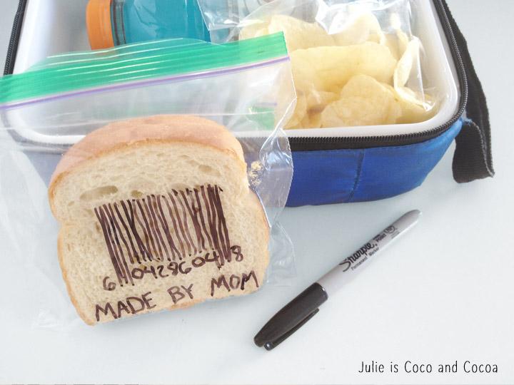 sandwich bag art