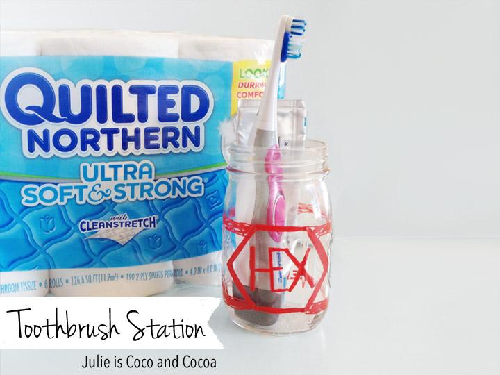 Toothbrush Station