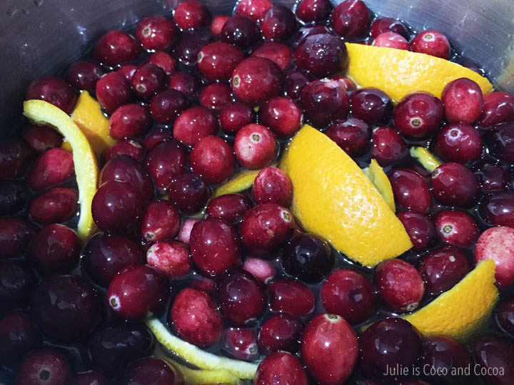 Cranberry Holiday Mocktail Recipes