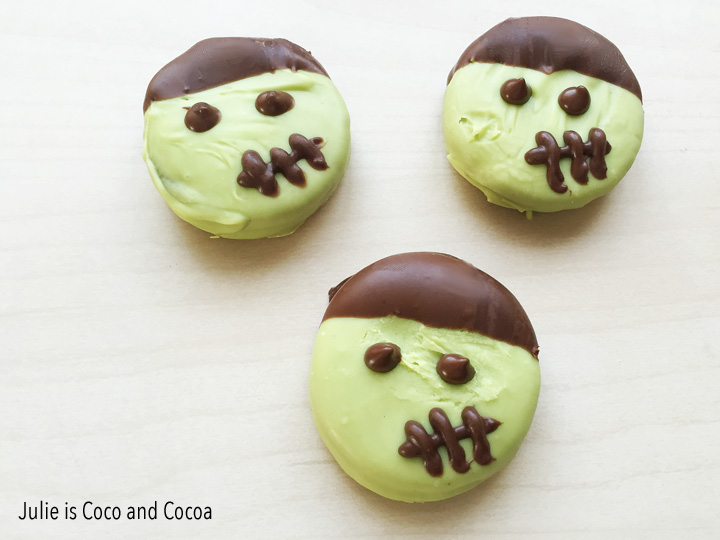 Frankenstein cookies are the perfect spooky dessert