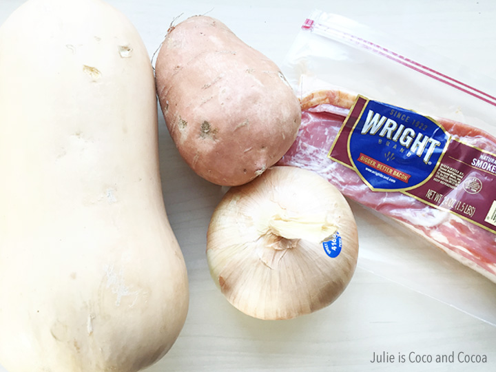 bacon butternut squash ingredients