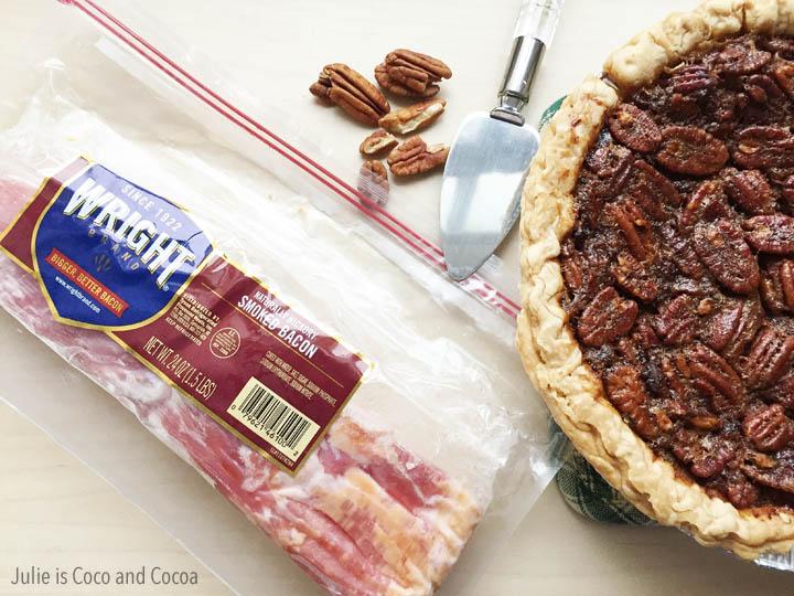bacon pecan pie ingredients