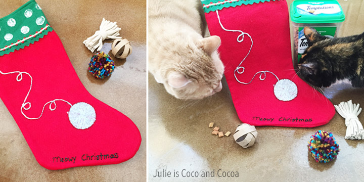 DIY Cat Toys! Wish your cats a Meowy Christmas with these treats and toys