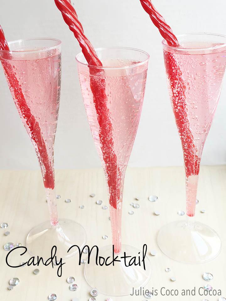 Cotton Candy Mocktails