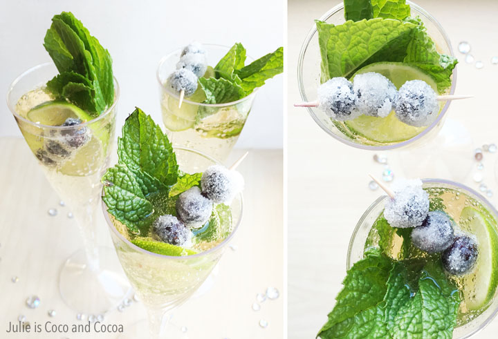 Evergreen Winter Berry Mocktail