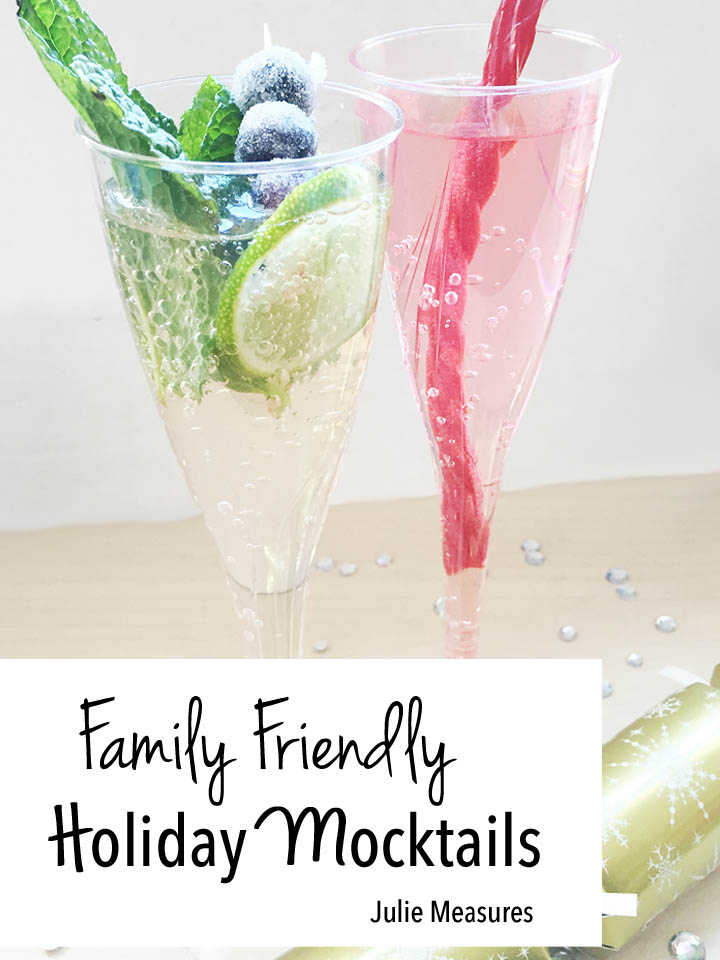 Family Friendly Holiday Mocktails