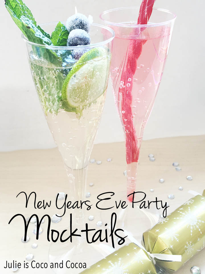 New Years Eve Party Mocktails