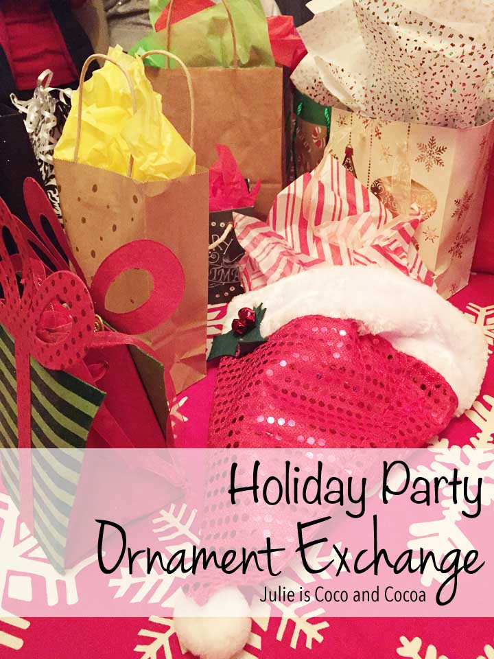 This Christmas throw an Ornament Exchange Party!