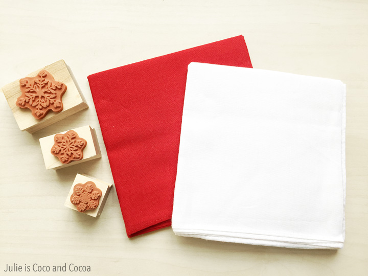 Gift Wrapping with Tea Towels
