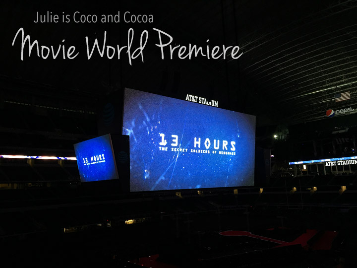 The world premiere for 13 Hours