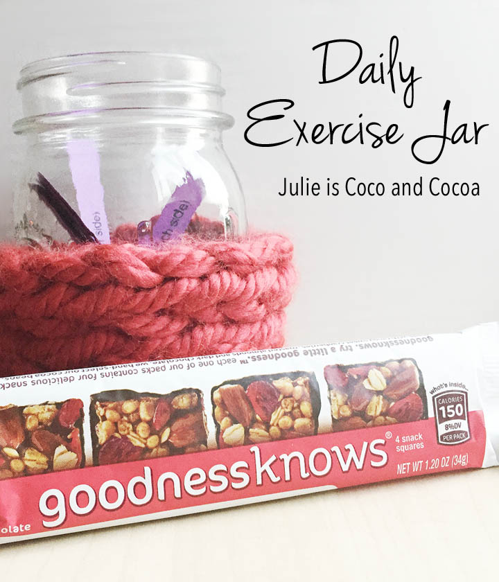 daily exercise jar