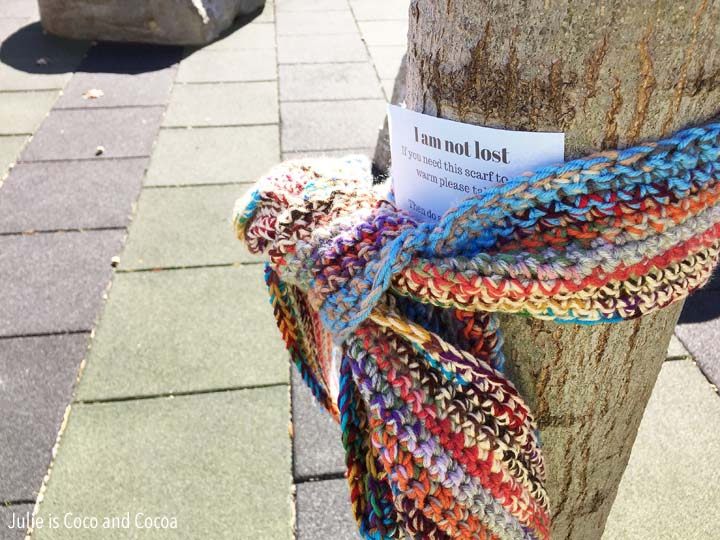 i am not lost scarf