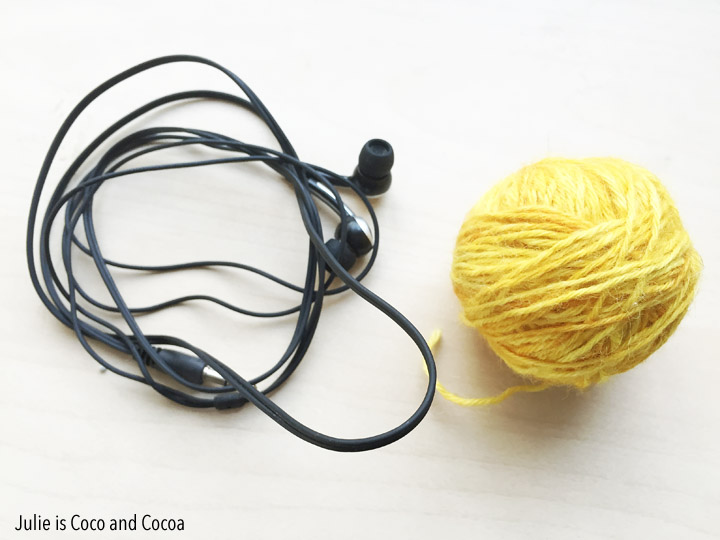 Yarn Wrapped Earbuds