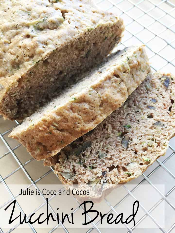 Zucchini Bread and Smoothie Recipe featuring Truvia
